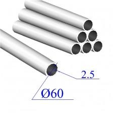 Трубы нержавеющие электросварные сталь 08Х18Н10Т 60х2.5