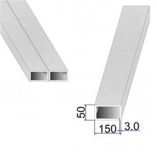 Труба прямоугольная AISI 304 DIN 2395 150х50х3