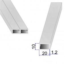 Труба прямоугольная AISI 304 DIN 2395 20х10х1.2