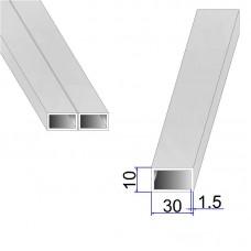 Труба прямоугольная AISI 304 DIN 2395 30х10х1.5