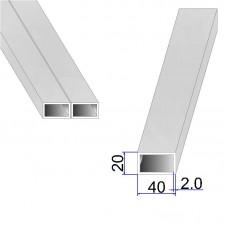 Труба прямоугольная AISI 304 DIN 2395 40х20х2