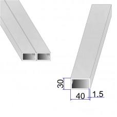 Труба прямоугольная AISI 304 DIN 2395 40х30х1.5