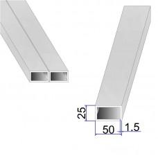 Труба прямоугольная AISI 304 DIN 2395 50х25х1.5