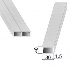 Труба прямоугольная AISI 304 DIN 2395 80х40х1.5