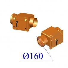Клапан обратный ПВХ для наружной канализации 160