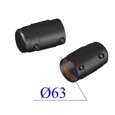 Заглушка ПНД электросварная D 63 ПЭ 100 SDR 11