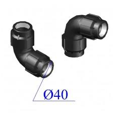 Отвод ПНД компрессионный D 40х40