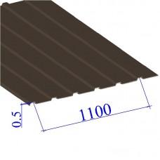 Профнастил окрашенный RAL 8017 С10 0.5х1100