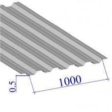 Профнастил окрашенный RAL 9002 НС35 0.5х1000