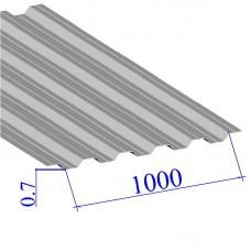 Профнастил окрашенный RAL 9002 НС35 0.7х1000