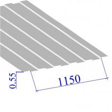 Профнастил окрашенный RAL 9010 С8 0.55х1150