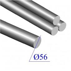 Круг диаметр 56 мм сталь 09Г2С