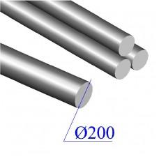 Круг диаметр 200 мм сталь 40Х