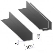 Уголок стальной 100х63х8