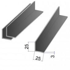 Уголок стальной 25x25х3