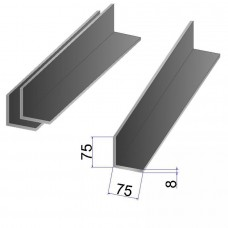 Уголок стальной 75x75х8