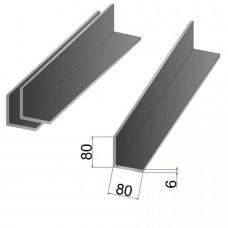 Уголок стальной 80x80х6