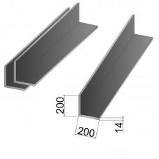 Уголок стальной 200х200х14