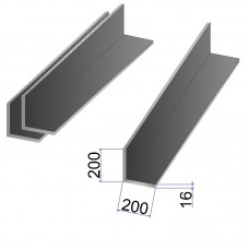 Уголок стальной 200х200х16
