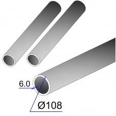 Труба бесшовная 108х6 сталь 20