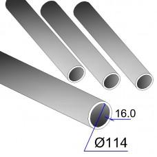 Труба бесшовная 114х16 сталь 20