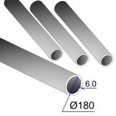 Труба бесшовная 180х6 сталь 20