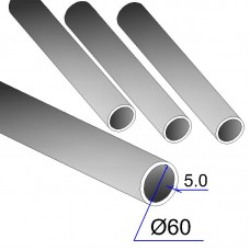 Труба бесшовная 60х5 сталь 20