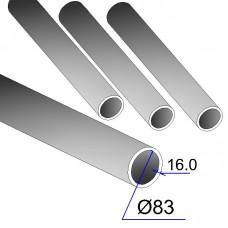 Труба бесшовная 83х16 сталь 20