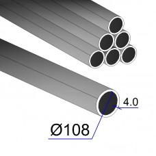 Труба электросварная 108х4,0