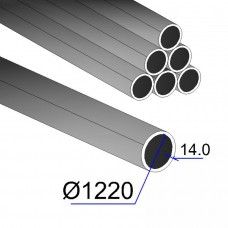 Труба электросварная 1220x14,0