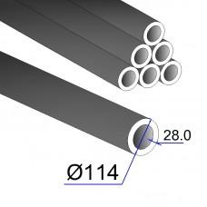 Труба бесшовная 114х28 сталь 35