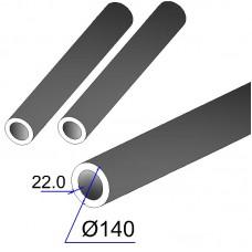 Труба бесшовная 140х22 сталь 20