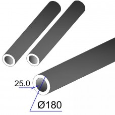 Труба бесшовная 180х25 сталь 35