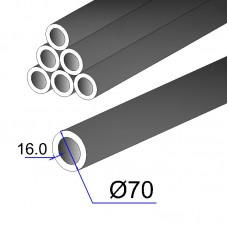 Труба бесшовная 70х16 сталь 35