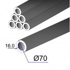 Труба бесшовная 70х16 сталь 45