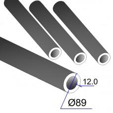 Труба бесшовная 89х12 сталь 45