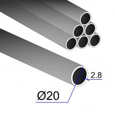 Труба ВГП 20х2,8